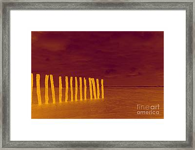Luminous Beach Framed Print by  Fotoping