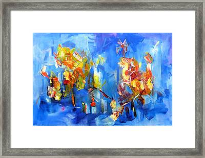 Luminous Celebration  Framed Print