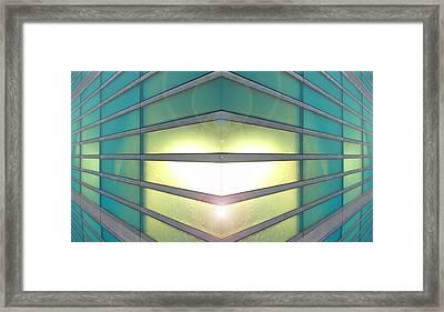 Framed Print featuring the photograph Luminous Corner by John Norman Stewart