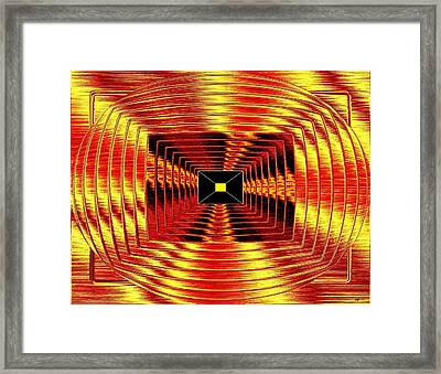 Luminous Energy 12 Framed Print by Will Borden
