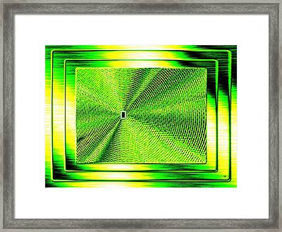 Luminous Energy 14 Framed Print by Will Borden