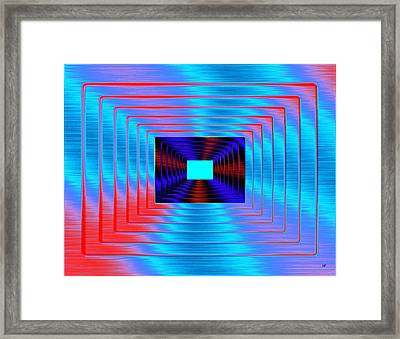 Luminous Energy 17 Framed Print by Will Borden