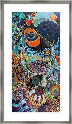 Luminous Framed Print by Leela Payne
