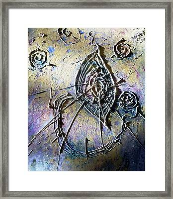 Framed Print featuring the painting Luminous  by 'REA' Gallery