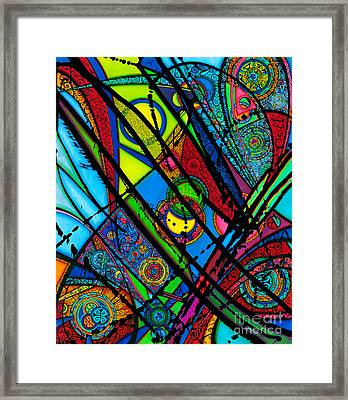 Luminus Aka Light  Framed Print