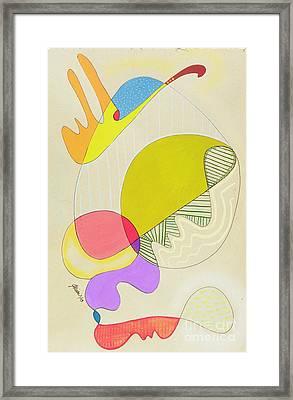 Lummox Copyright Two Thousand Nine J.a.moscariello Framed Print by Jaye  Alison