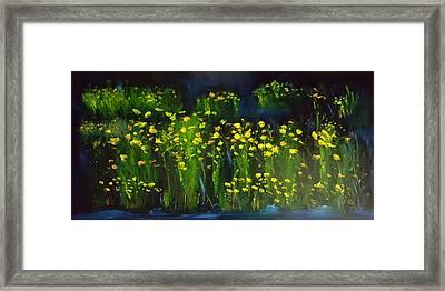 Lumonious Buds     17 Framed Print