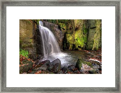 Lumsdale Falls 3.0 Framed Print by Yhun Suarez