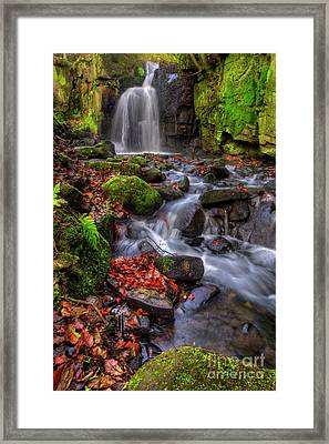 Lumsdale Falls 4.0 Framed Print by Yhun Suarez