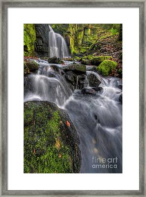 Lumsdale Falls 5.0 Framed Print by Yhun Suarez