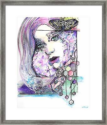 Luna Framed Print by Ash Stiller