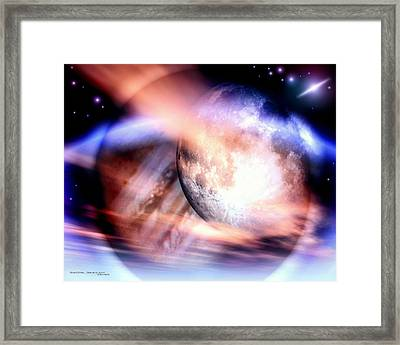 Luna Framed Print by Dreamlight  Creations
