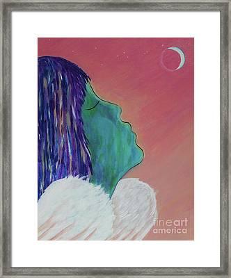Luna Framed Print by Jade