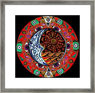 Luna Sea Framed Print by Pam Ellis