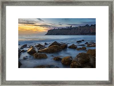 Lunada Bay Framed Print