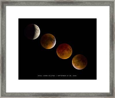 Lunar Eclipse 2015 Framed Print