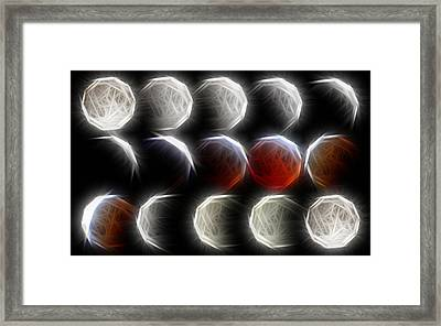 Lunar Eclipse Progression Framed Print