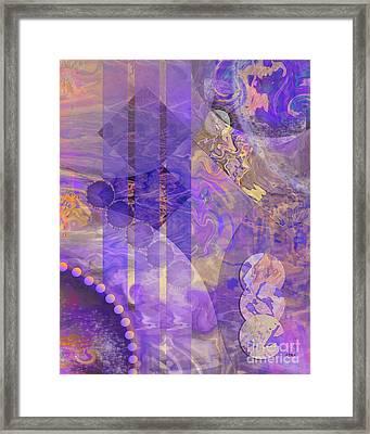 Lunar Impressions 2 Framed Print by John Beck