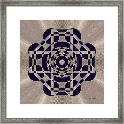 Lunar Landing Framed Print