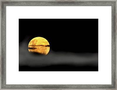 Lunar Mist Framed Print