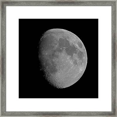 Lunarcy Over Cape Cod Canal Framed Print