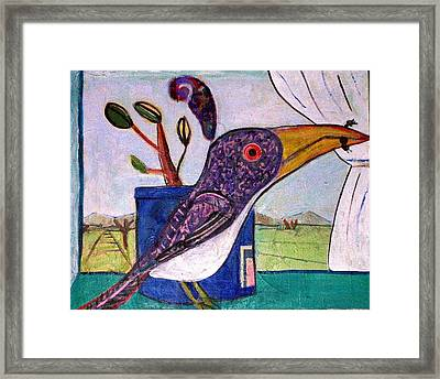 Lunch Framed Print by Dave Kwinter
