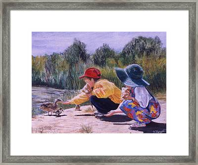 Lunchtime Framed Print by Victoria Heryet