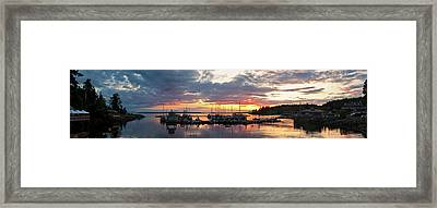 Lund, British Columbia Framed Print