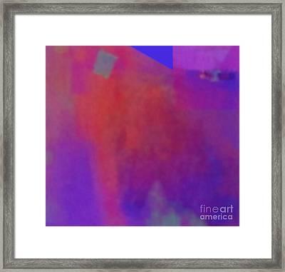 Meditation-lungta Windhorse Framed Print