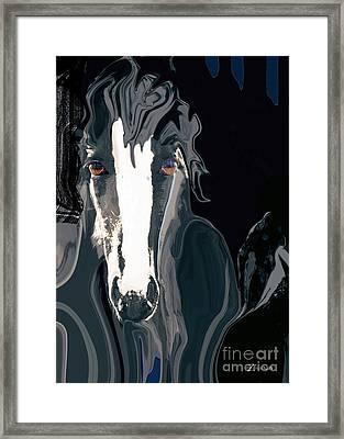 Lungta Windhorse No. 2-energy Framed Print