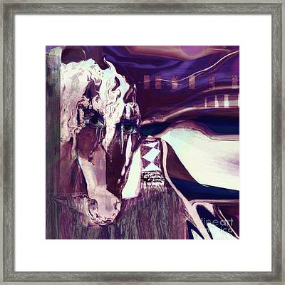 Lungta Windhorse No 5 Framed Print