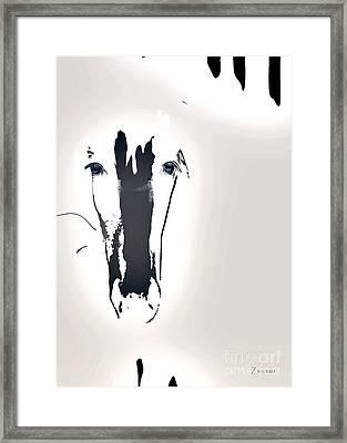 Lungta Windhorse No.1 Concept Framed Print