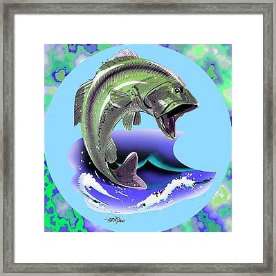 Lunker Framed Print