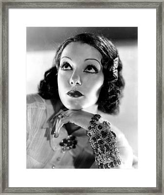 Lupe Velez, Mgm, 1933, Photo Framed Print