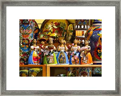 Lupitas Framed Print by Steven Sparks