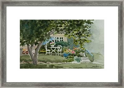 Lura's House Framed Print by Heidi E Nelson