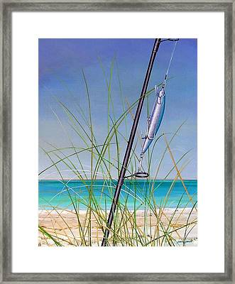 Lure Of The Island Framed Print