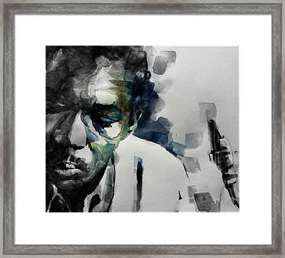 Lush Life  John Coltrane  Framed Print
