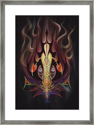 Lust Framed Print