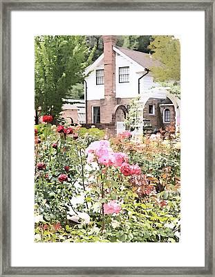 Luther Burbank Home And Gardens Framed Print