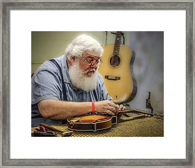 Luthier Framed Print