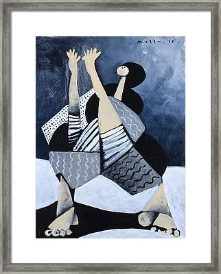 Lux No. 4  Framed Print by Mark M  Mellon
