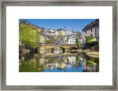 Luxembourg City Framed Print by JR Photography