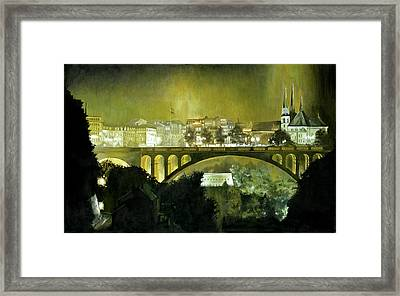 Luxembourg Framed Print by Michael Frank