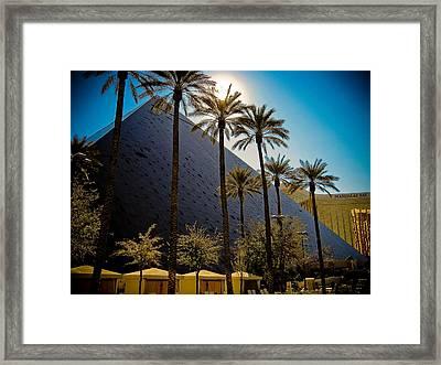 Luxor Las Vegas Framed Print by Patrick  Flynn