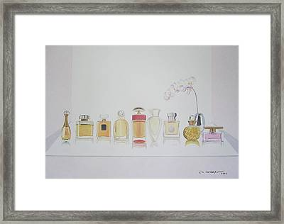 Luxurious Manipulation Of Natural Scent Framed Print by Ingrid Stiehler