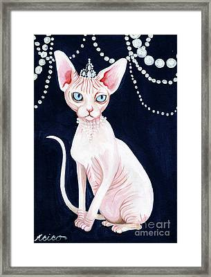Luxurious Sphynx Framed Print
