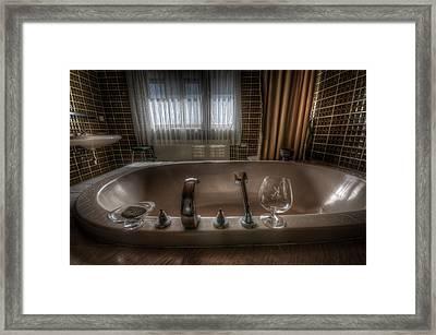 Luxury Bath  Framed Print