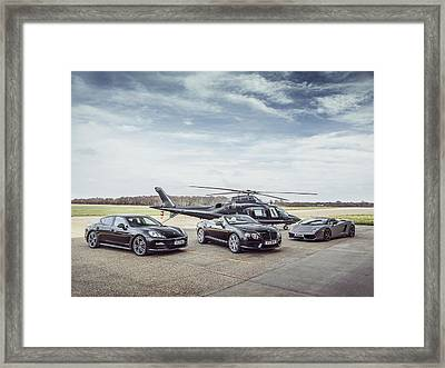 Luxury Life Framed Print