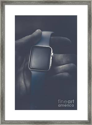 Luxury Tech Watches Framed Print by Jorgo Photography - Wall Art Gallery
